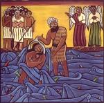 Jesus Baptized Naked