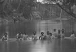 Civil War Union Soldiers Skinny dipping