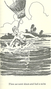 Tom Sawyer Abroad skinny dipping