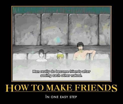 Nudity Builds Friendships